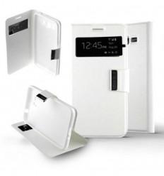 Etui Folio Samsung Galaxy Grand Prime / Grand Prime VE - Blanc