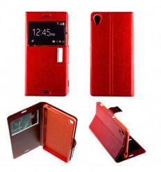 Etui Folio Sony Xperia Z3 - Rouge