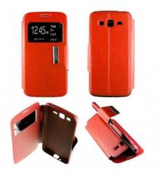 Etui Folio Samsung Galaxy Grand 2 - Rouge