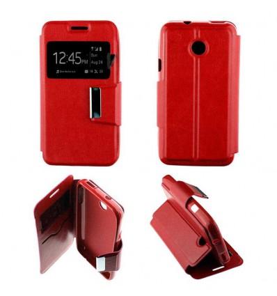 Etui Folio Huawei Ascend Y330 - Rouge
