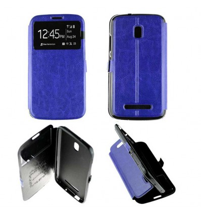 Etui Folio Alcatel One Touch Pop S9 - Bleu