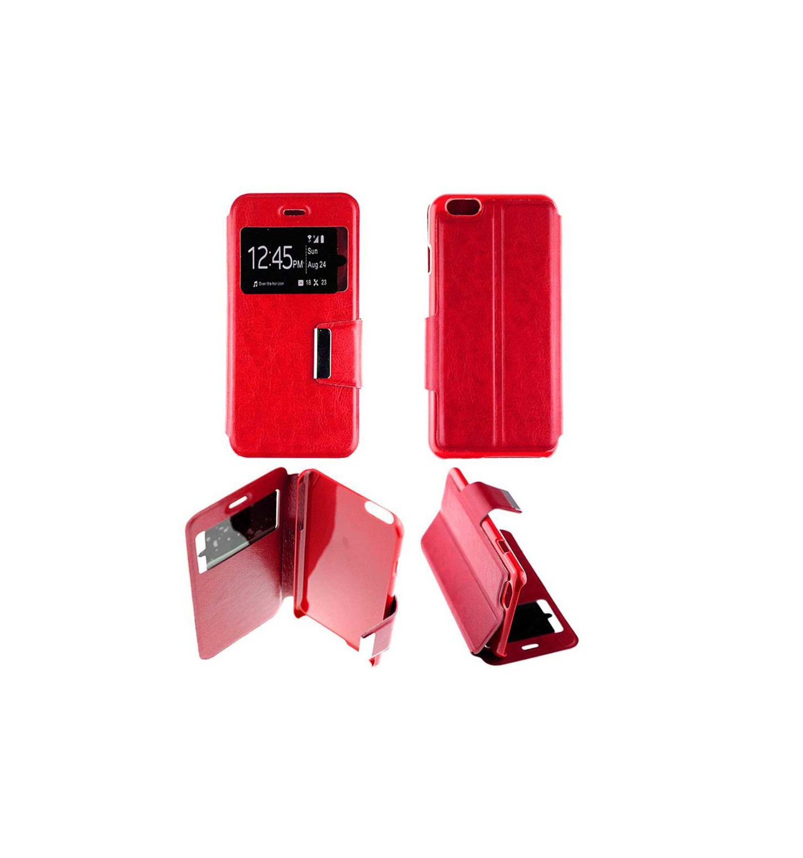 etui folio apple iphone 6 6s rouge. Black Bedroom Furniture Sets. Home Design Ideas