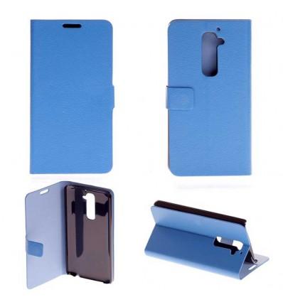 Etui Folio LG Optimus G2 - Bleu