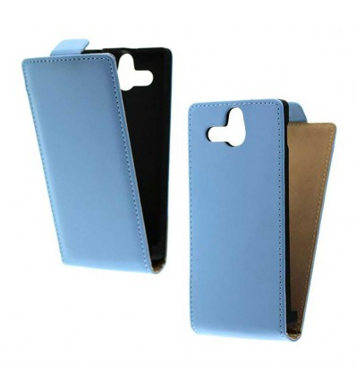 Etui Folio Sony Xperia U - Bleu ciel