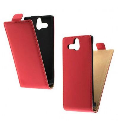 Etui Folio Sony Xperia U - Rouge