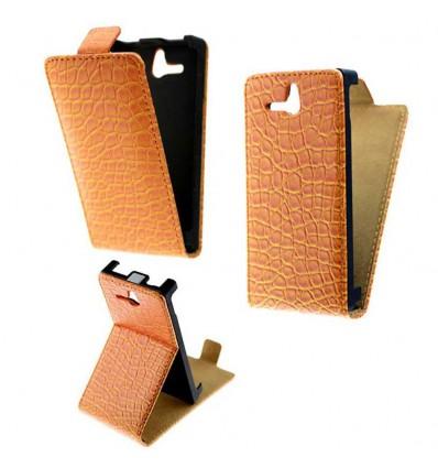 Etui Folio Sony Xperia U - Orange