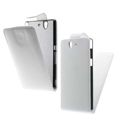 Etui Folio Sony Xperia Z - Blanc