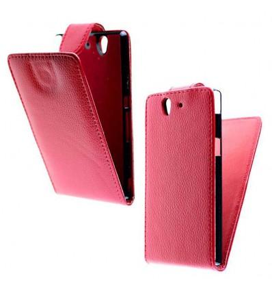 Etui Folio Sony Xperia Z - Rouge