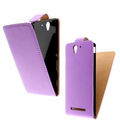 Etui Folio Sony Xperia C3 - Violet