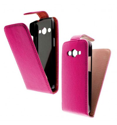 Etui Folio Samsung Galaxy Core Lite / Core 4G - Rose Fushia