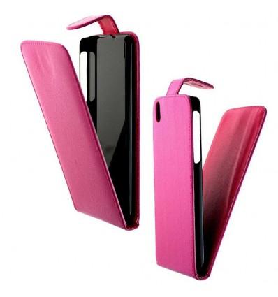 Etui Folio HTC Desire 816 - Rose Fushia