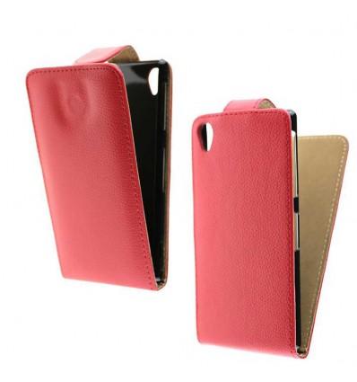 Etui Folio Sony Xperia Z1 - Rose Fushia