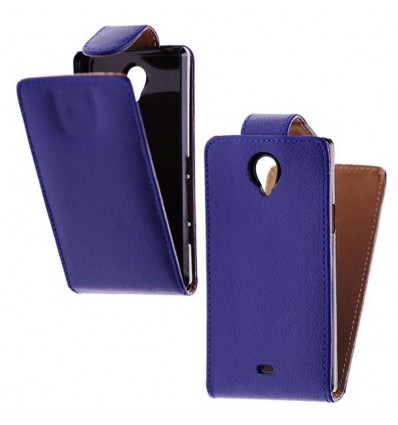 Etui Folio Sony Xperia T - Bleu