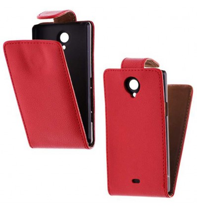 Etui Folio Sony Xperia T - Rouge