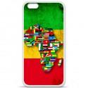 Coque en silicone Apple IPhone 7 - Drapeau Africa Unite