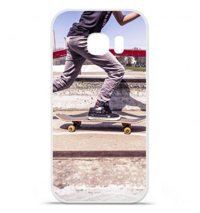 Coque en silicone pour Samsung Galaxy S7 - Panda skater