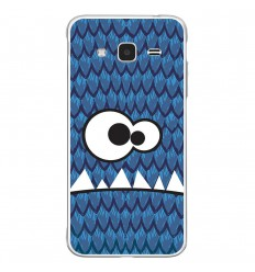 Coque en silicone Samsung Galaxy J3 2016 - Monster