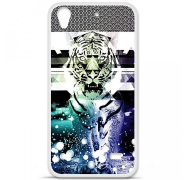 Coque en silicone Huawei Ascend G620S - Tigre swag