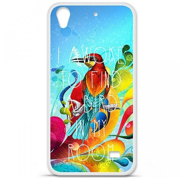 Coque en silicone Huawei Ascend G620S - Mocking bird