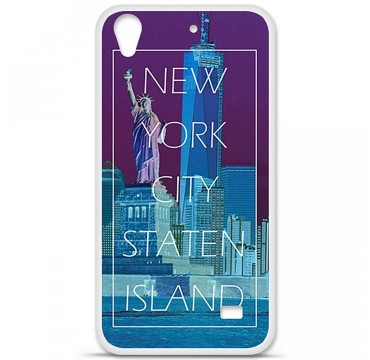 Coque en silicone Huawei Ascend G620S - New york