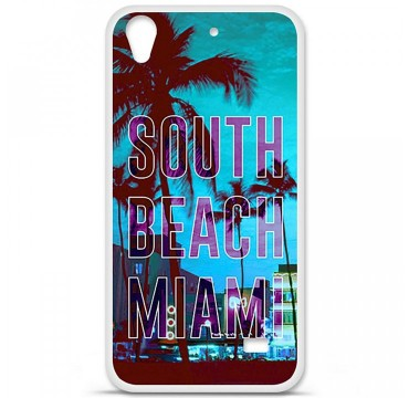 Coque en silicone Huawei Ascend G620S - South Beach Miami