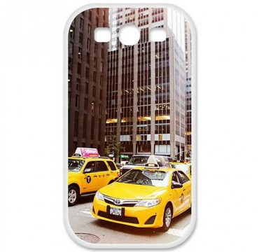 Coque en silicone pour Huawei Ascend G620S - NY Taxi