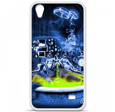 Coque en silicone Huawei Ascend G620S - Fontaine