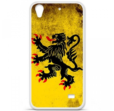 Coque en silicone Huawei Ascend G620S - Drapeau Nord