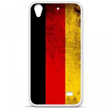 Coque en silicone Huawei Ascend G620S - Drapeau Allemagne