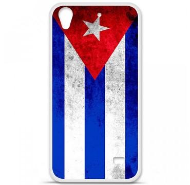 Coque en silicone Huawei Ascend G620S - Drapeau Cuba