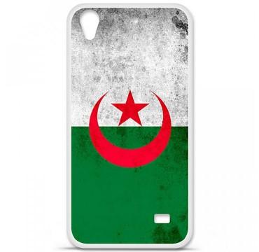 Coque en silicone Huawei Ascend G620S - Drapeau Algérie