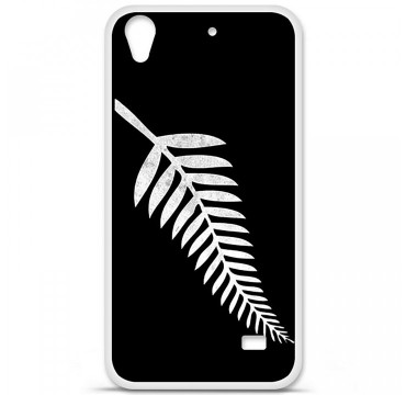 Coque en silicone Huawei Ascend G620S - Drapeau All black