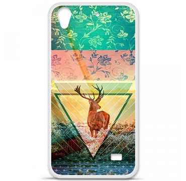 Coque en silicone pour Huawei Ascend G620S - Cerf swag