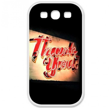 Coque en silicone Huawei Ascend G620S - Thank You