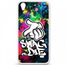 Coque en silicone Huawei Ascend G620S - Swag or die