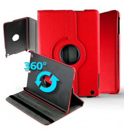 Housse rotative 360° Apple iPad Mini 5 - Rouge