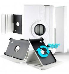 "Housse rotative 360° Samsung Galaxy Tab 2 7"" GT-P3100 - Blanc"