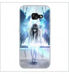 Coque en silicone Samsung Galaxy A3 2017 - Angel