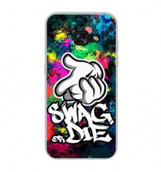 Coque en silicone Samsung Galaxy A3 2017 - Swag or die