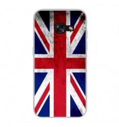 Coque en silicone Samsung Galaxy A3 2017 - Drapeau Angleterre