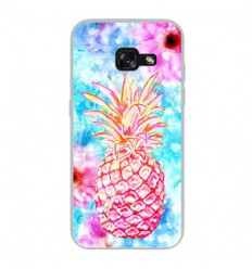 Coque en silicone Samsung Galaxy A3 2017 - Ananas