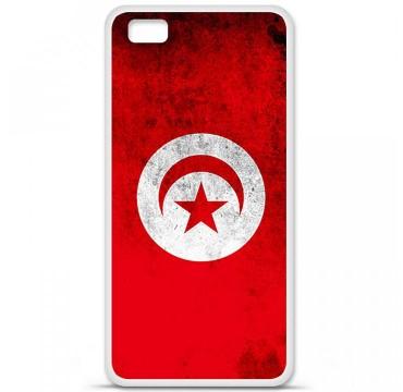 Coque en silicone Huawei P8 Lite - Drapeau Tunisie