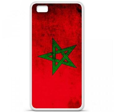 Coque en silicone Huawei P8 Lite - Drapeau Maroc