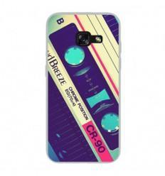 Coque en silicone Samsung Galaxy A3 2017 - Cassette Vintage