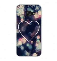 Coque en silicone Samsung Galaxy A3 2017 - Coeur Love