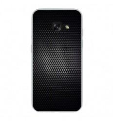 Coque en silicone Samsung Galaxy A3 2017 - Dark Metal