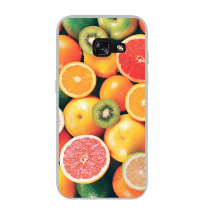 Coque en silicone Samsung Galaxy A3 2017 - Fruits