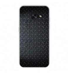 Coque en silicone Samsung Galaxy A3 2017 - Texture metal