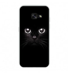 Coque en silicone Samsung Galaxy A3 2017 - Yeux de chat