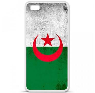 Coque en silicone Huawei P8 Lite - Drapeau Algérie